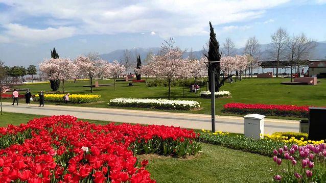 حديقة سيكا في ازميت التركية