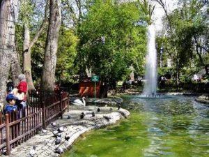 حديقة 50 عام من اجمل حدائق تركيا في العاصمة انقرة