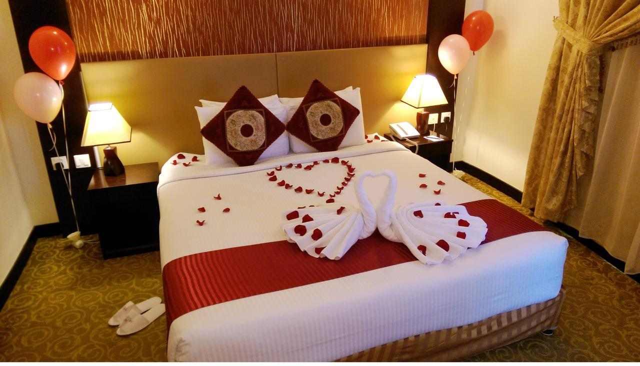 غرف رائعة في فندق اريانا في الشارقة