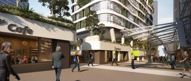 ممشى شارع بورك في ملبورن من افضل الاماكن السياحية في ملبورن استراليا