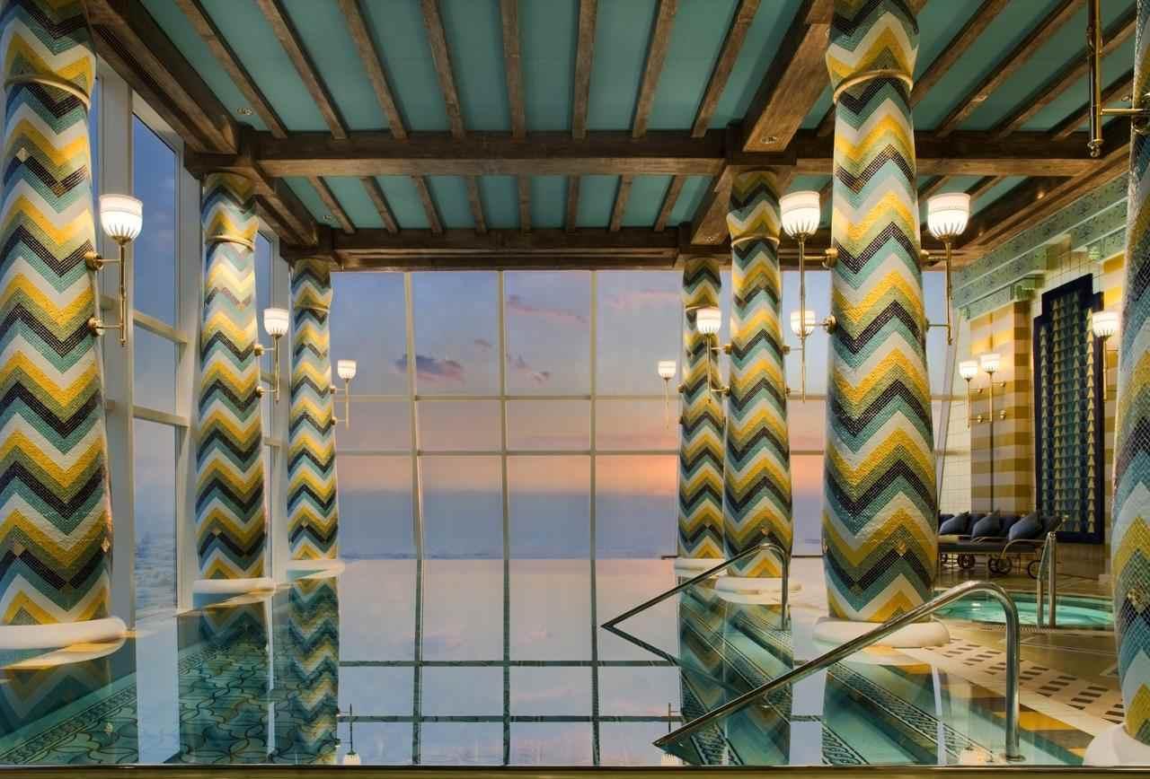 فندق برج العرب دبي يضم إطلالات ساحرة