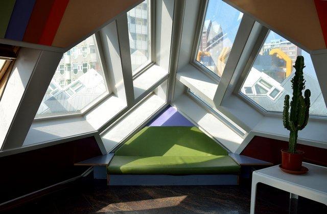 المنازل المكعبة في روتردام من افضل اماكن السياحة في روتردام