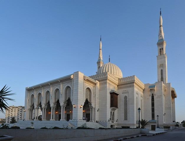 مسجد الامير عبد القادر في قسنطينة من افضل اماكن السياحة في قسنطينة