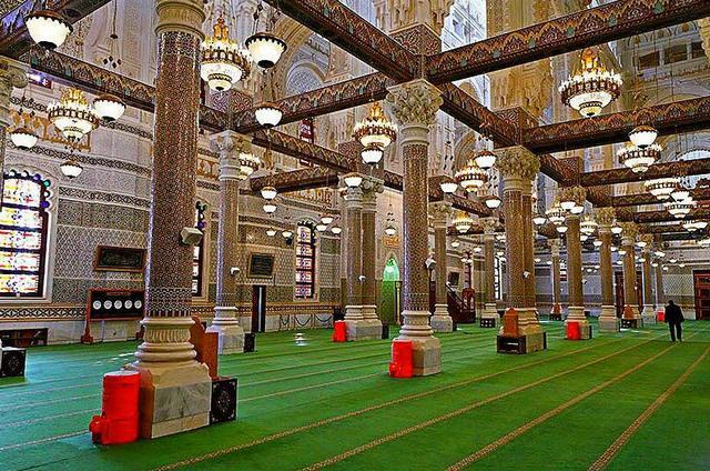 مسجد الامير عبد القادر بقسنطينة من افضل الاماكن السياحية في مدينة قسنطينة السياحية