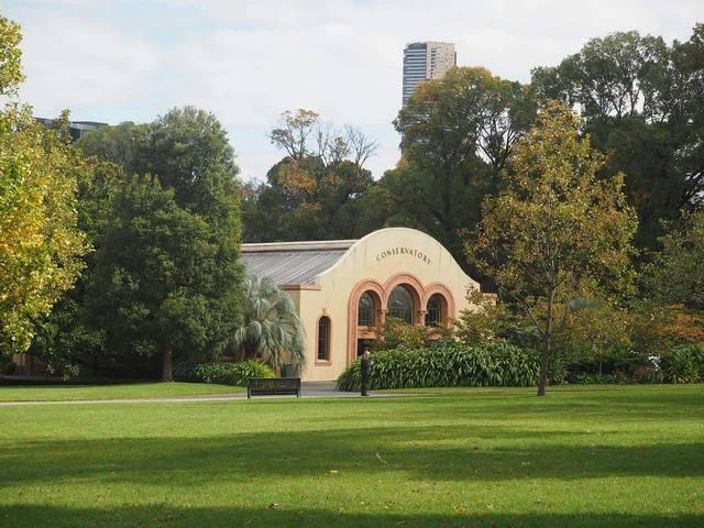 حدائق فيتزروي ملبرون من افضل الاماكن السياحية في ملبورن