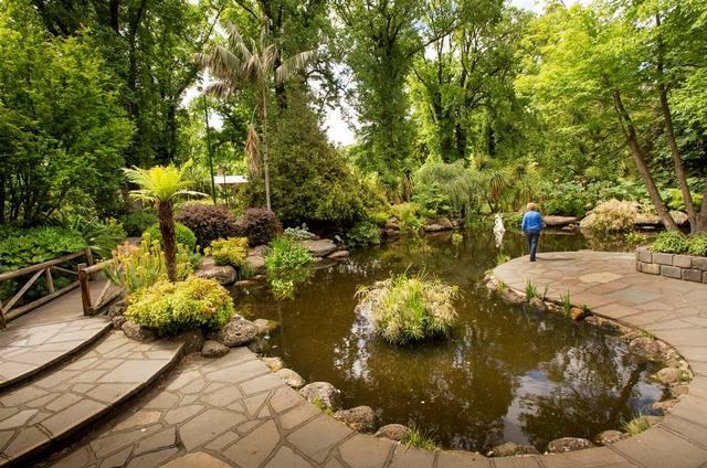 حدائق فيتزوري في ملبورن من افضل اماكن السياحة في ملبورن