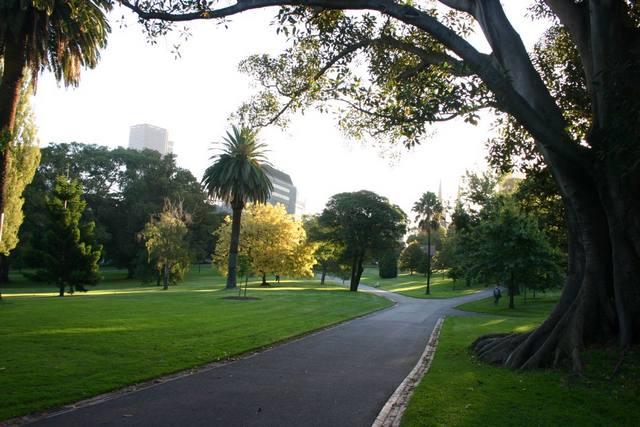 حدائق فبتزروي في مدينة ملبورن من افضل حدائق ملبورن