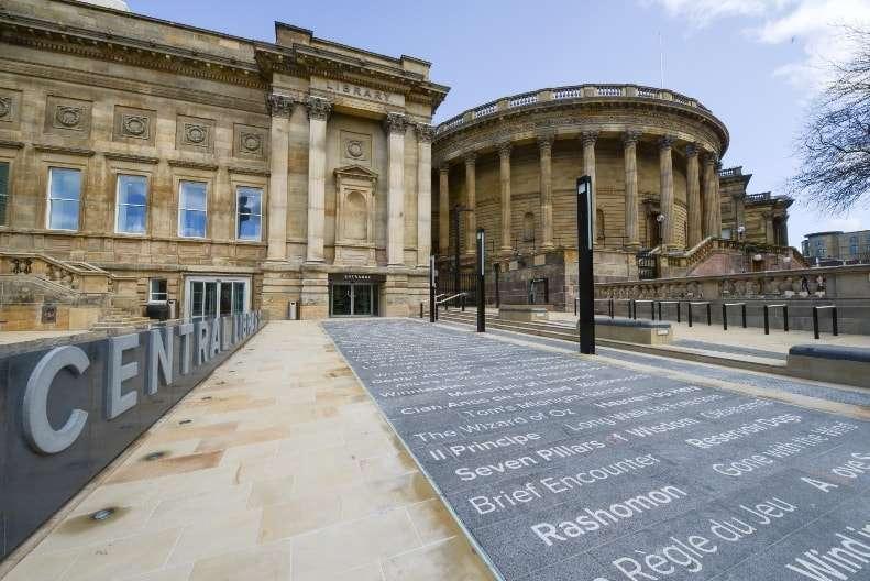مكتبة ليفربول المركزية من اجمل اماكن سياحية في ليفربول انجلترا