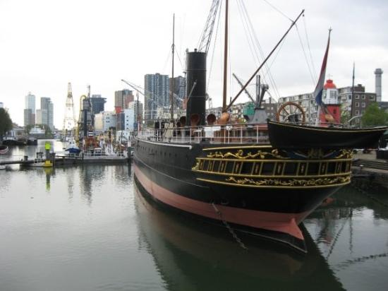 متحف روتردام البحري من افضل المتاحف في روتردام