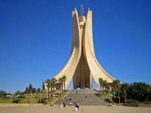مقام الشهيد في الجزائر من افضل مناطق سياحية في الجزائر العاصمة