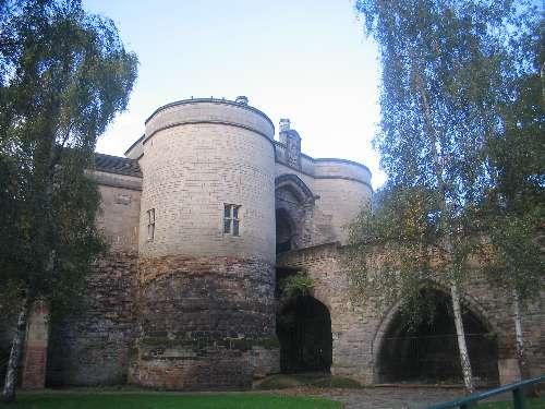 قلعة نوتنغهام من اهم معالم السياحة في نوتنجهام بريطانيا