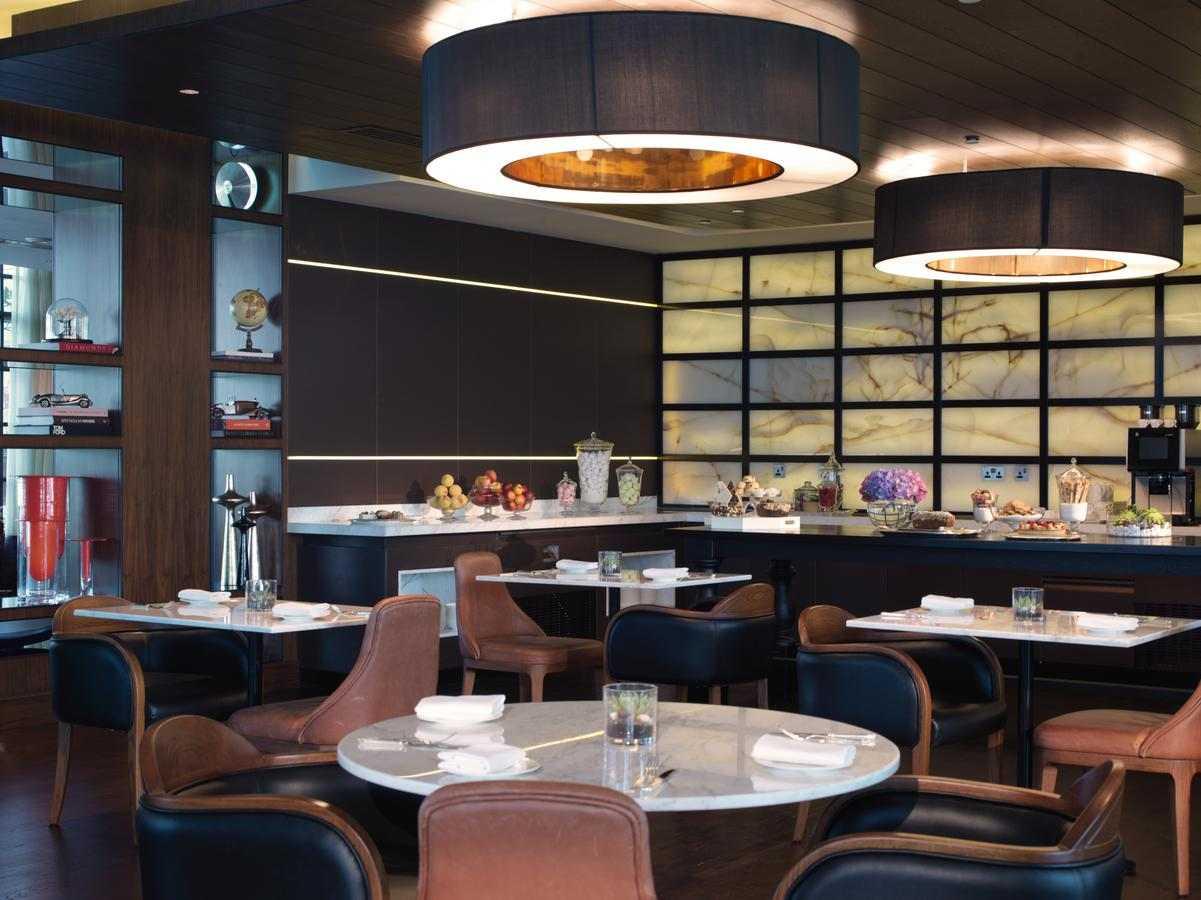 مطعم فندق روز وود ابوظبي من افضل فنادق 5 نجوم ابوظبي