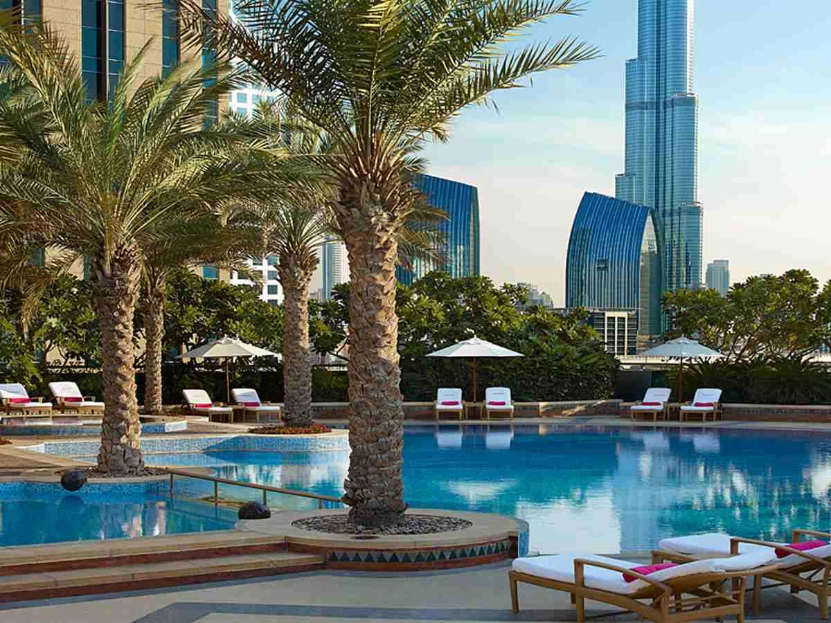 منتجع شانغريلا دبي من افضل منتجعات دبي