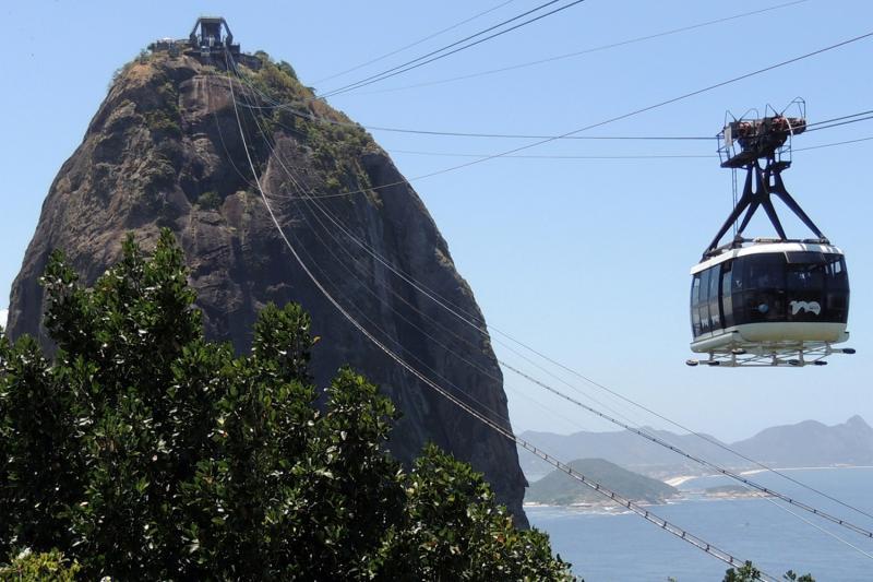 تلفريك جبل السكر من افضل اماكن السياحة في ريو داجنيرو