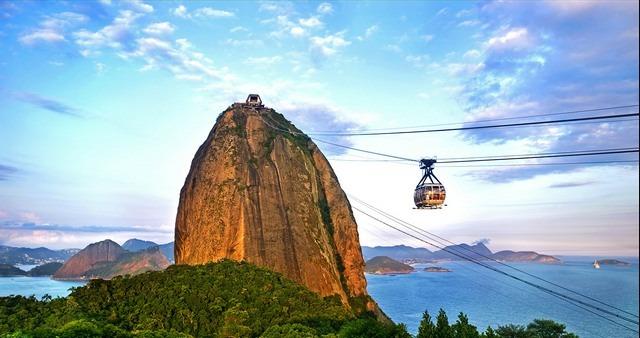 جبل السكر ريو دي جانيرو من افضل اماكن السياحة في ريو دي جانيرو