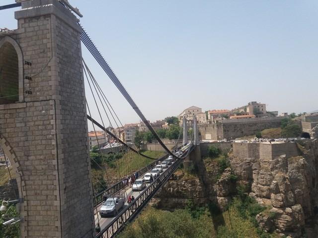 جسر سيدي مسيد في قسنطينة من افضل اماكن السياحة في قسنطينة