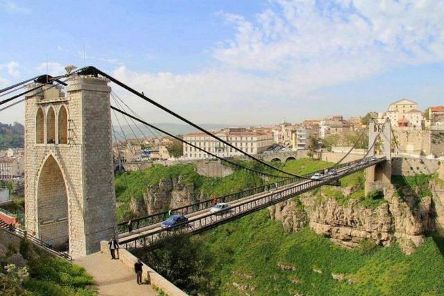 جسر سيدي مسيد قسنطينة من افضل الاماكن السياحية في مدينة قسنطينة السياحية