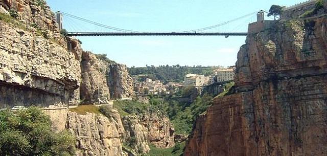 جسر سيدي مسيد بقسنطينة من افضل الاماكن السياحية في قسنطينة