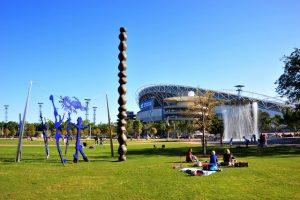 الحديقة الاولمبية في سيدني من افضل اماكن السياحة في سيدني استراليا