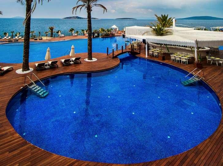 فندق جميرا بودروم من أهم الأماكن السياحية في بودروم تركيا