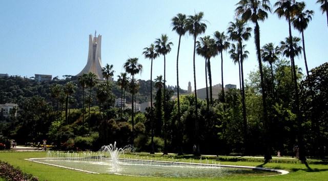 حديقة التجارب من الاماكن الجميلة في الجزائر العاصمة