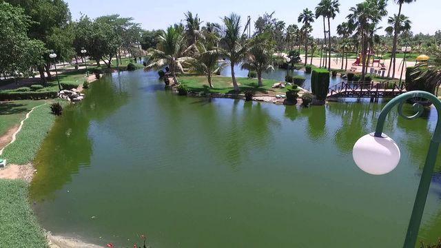 حديقة الفيروز في ينبع ، من اجمل الاماكن في ينبع سياحة