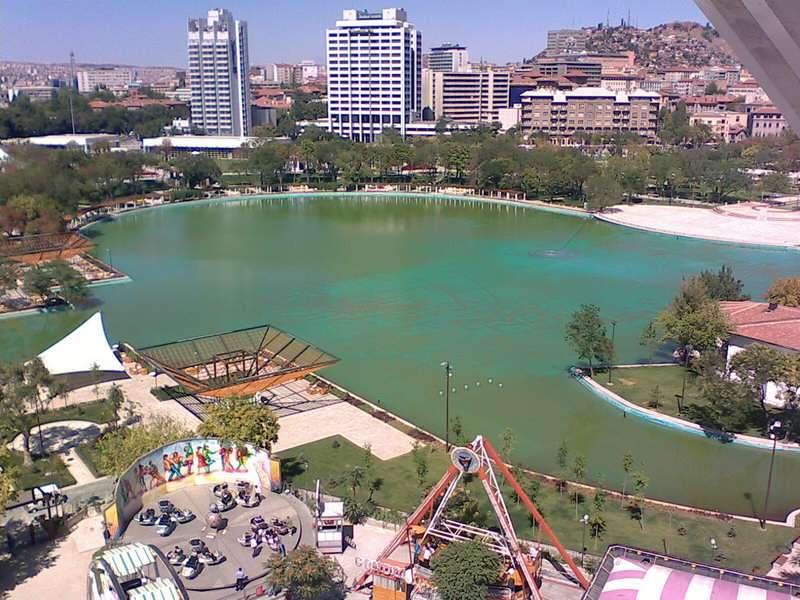 حديقة الشباب في انقرة من أهم الاماكن السياحية في انقرة