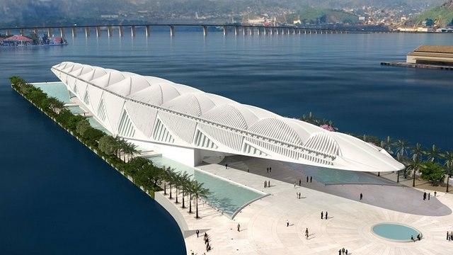 متحف الغد من افضل الاماكن السياحية في ريو دي جانيرو