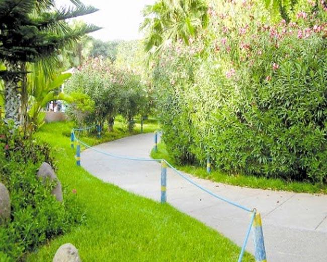 حديقة اولهاو من اهم الاماكن السياحية في اغادير المغرب