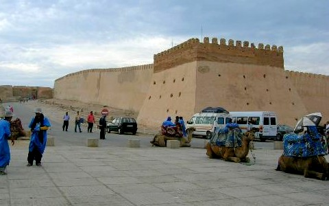 قصبة أغادير من اشهر اماكن السياحة في اغادير المغرب