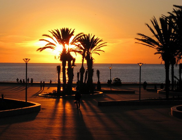 منتزه اغادير من اجمل اماكن اغادير سياحة المميزة