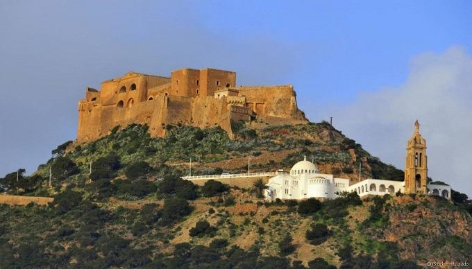 قلعة سانتا كروز من افضل الاماكن السياحية في وهران
