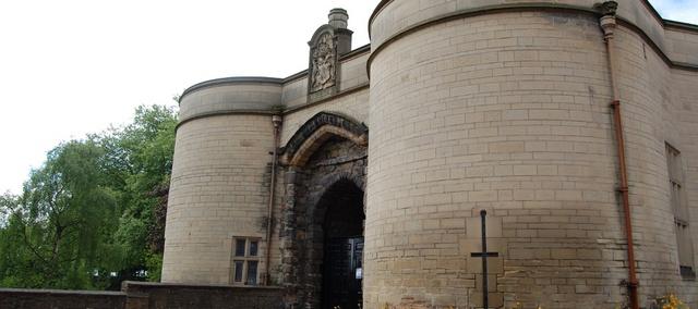 قلعة نوتنجهام في نوتنجهام انجلترا من افضل الاماكن السياحية في نوتنجهام