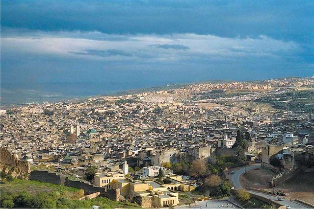 فاس من اهم مدن المغرب سياحة