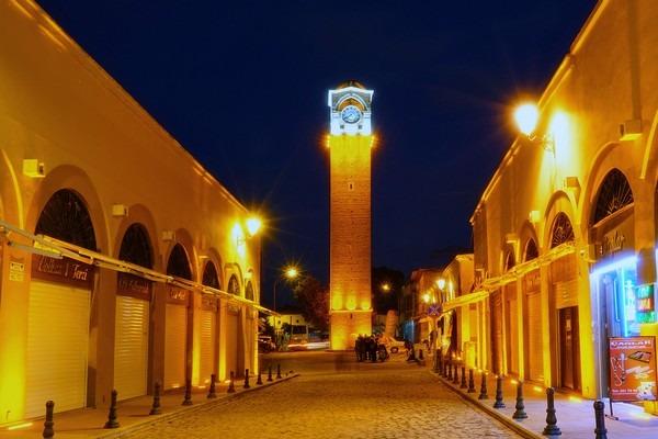 نتيجة بحث الصور عن برج الساعة أضنة تركيا