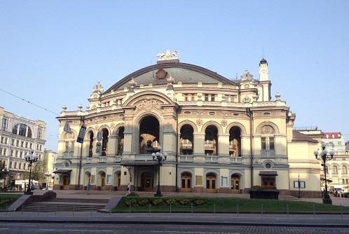 دار الأوبرا الوطنية من افضل اماكن السياحة في اوكرانيا كييف