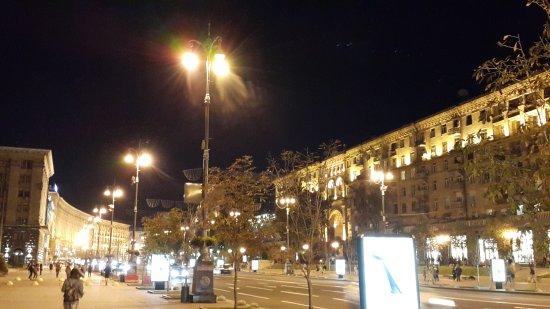 شارع خرشتشاتيك من اجمل الاماكن السياحية في اوكرانيا كييف