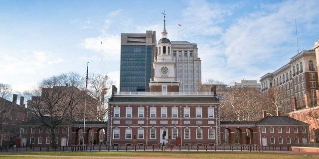 قاعة الاستقلال من اهم اماكن السياحة في فيلادلفيا