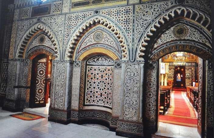 المتحف القبطي يعد واحداً من اهم مناطق سياحية في مصر القاهرة