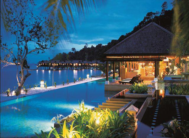 جزيرة بانكور من اجمل جزر ماليزيا
