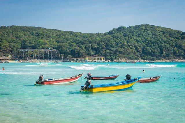 جزيرة برهنتيان - جزر ماليزيا بالصور
