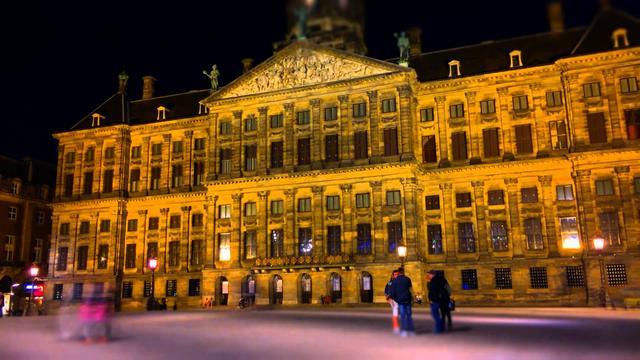 القصر الملكي في امستردام