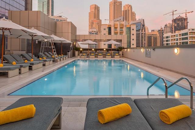 فندق ويندهام دبي مارينا من افضل فنادق دبي مارينا