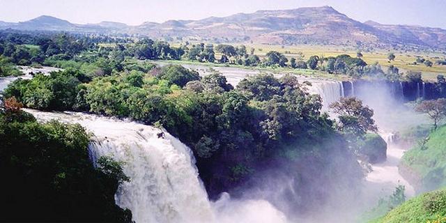 شلالات النيل الازرق بحر دار