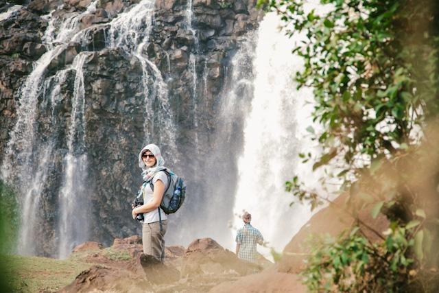 شلالات النيل الازرق من افضل اماكن السياحة في بحر دار