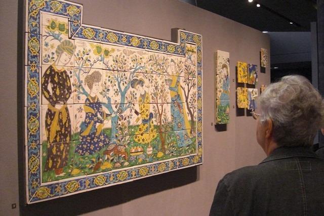 من اشهر اللوحات المتواجدة في متحف اللوفر