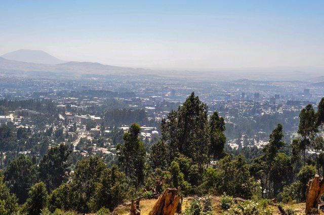 جبل انطوطو في اثيوبيا من اجمل اماكن سياحية في اديس ابابا