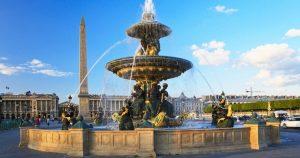يعد ميدان الكونكورد في باريس من اشهر معالم السياحة في فرنسا