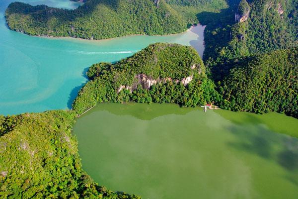 جزيرة العذراء الحامل من اجمل جزر في ماليزيا