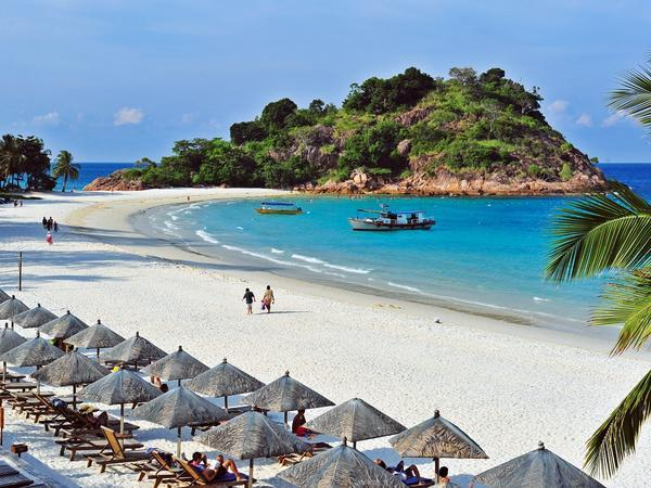 جزيرة ريدانج من اجمل الجزر في ماليزيا